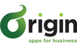 Origin Logo with strapline